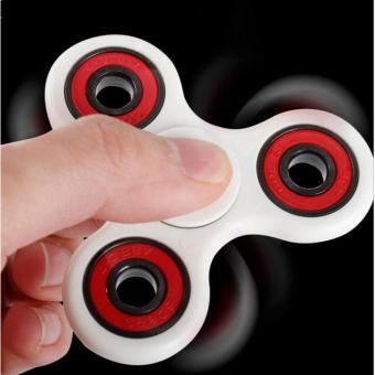 Dụng cụ giúp xả Stress con quay Fidget Spinner (Trắng)