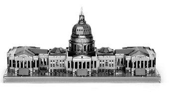 Xếp hình 3D mô hình Nhà QUỐC HỘI MỸ Alichienchien