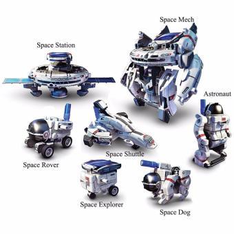 Robot Lắp Ráp Thông Minh 7 Trong 1 Năng Lượng Mặt Trời