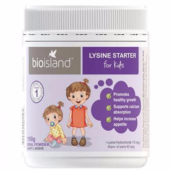 Bột tăng chiều cao cho trẻ Bioisland Lysine Starter 150g Wowmart VN