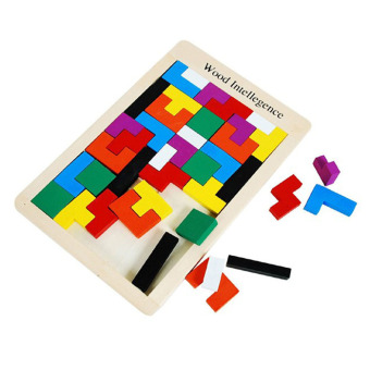Fancyqube Multifunctional Educational Wooden Magnetic Puzzle Toys for Children Kids Jigsaw Baby's Drawing Easel Board