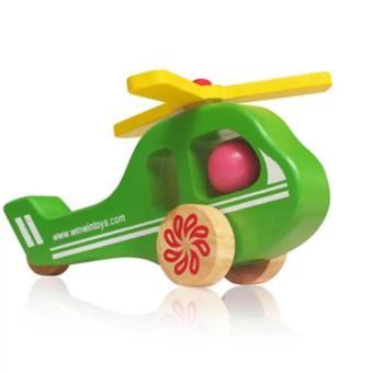Đồ chơi gỗ máy bay trực thăng (68272)