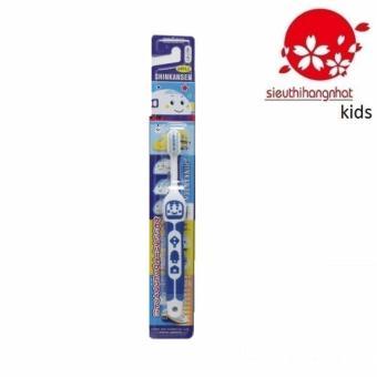 Bàn chải đánh răng Nhật EBISU B-S742 Cho Trẻ Từ 3 tuổi (Xanh Navy)