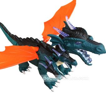 Hộp đồ chơi khủng long rồng có cánh 5 đầu Dinosaur