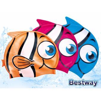 Bộ 2 Mũ bơi Bestway cho bé hình cá