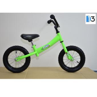 Xe thăng bằng BIKE dành cho trẻ từ 2 đến 6 tuổi - Màu Xanh - Sườn Cong
