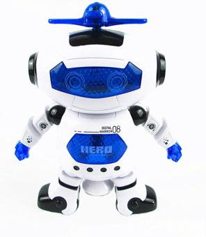 Robot thông minh nhảy múa theo nhạc ROBO (Xanh)