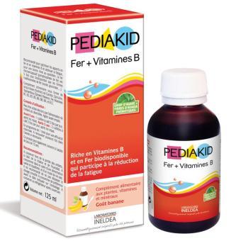 PediaKid Sắt & Vitamin B 125 ml