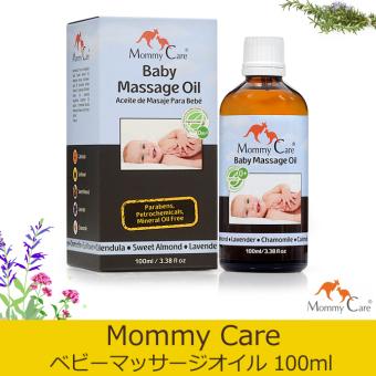 Dầu Massage tự nhiên hữu cơ cho bé Mommycare baby massage oil 100ml