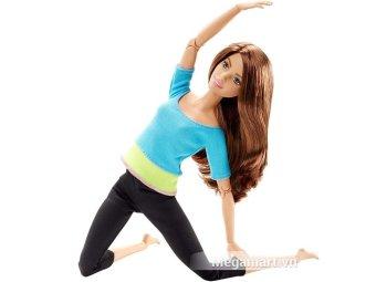 Mua Búp bê Yoga Barbie Made to move Bambi (Áo xanh) giá tốt nhất