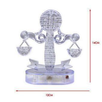 Bộ đồ chơi lắp ghép 3D 1 trong 12 cung hoàng đạo