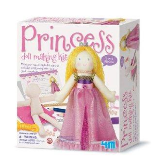 Bộ sản phẩm làm búp bê - Công chúa(Nhiều màu)+ Tặng vòng tay sillicon cho trẻ em