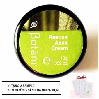 Kem trị mụn hữu cơ cho bà bầu Rescue Acne Cream 10g