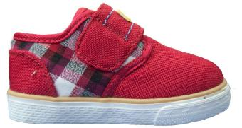 Giày sneaker vải đế cao su Ibino AptBear1599 (Đỏ)