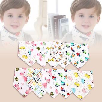 Bộ 10 khăn tam giác quàng cố cho bé
