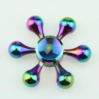 Con quay Spinner 6 cánh đa màu sắc kim loại
