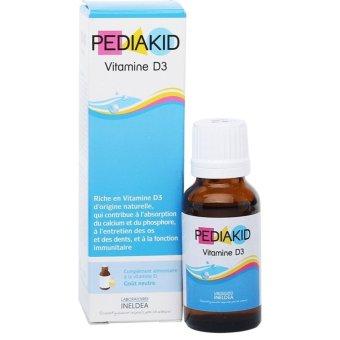 Pediakid Vitamin D3 Giúp Hấp Thu Canxi Và Photpho 20ml