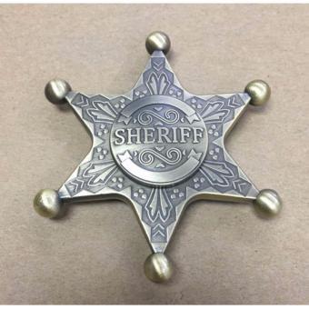 Con quay huy chương cảnh sát trưởng - Sheriff hand spinner độc đáo