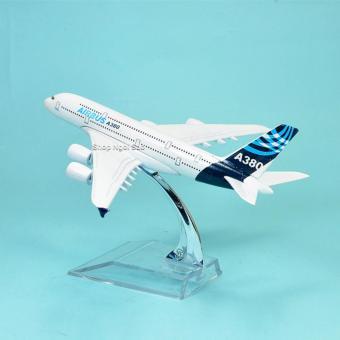MÔ HÌNH MÁY BAY KIM LOẠI -16CM - AIRBUS A380