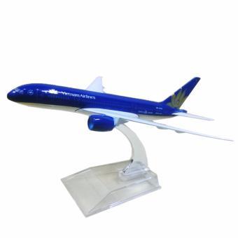 Mô hình máy bay Việt Nam Airlines B787 Dreamliner 1:400 16cm