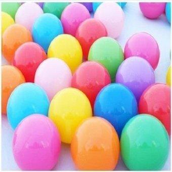 50 Quả bóng nhựa sắc màu cho bé 73cm - HT-9070