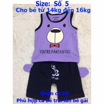 Quần áo trẻ em CityKids BTE026 (Màu tím)