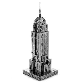 Bộ xếp hình Tòa nhà EMPIRE STATE BUILDING huyền thoại Alichienchien