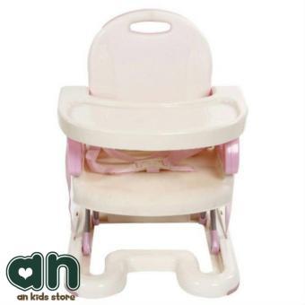 Ghế ngồi ăn dặm Mastela nâng hạ độ cao: Nhựa sắt kết hợp 07110 (xám-trắng) // 07112 (hồng-trắng)