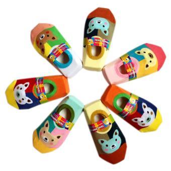 Combo 6 đôi Tất hài chống trượt cho bé yêu từ 4 tháng- 3 tuổi Phú Đạt