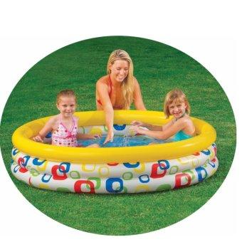 Bể bơi phao hoa tròn 1m47 (ORIGINAL)