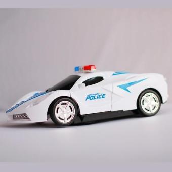 Đồ chơi ô tô biến hình siêu xe cảnh sát