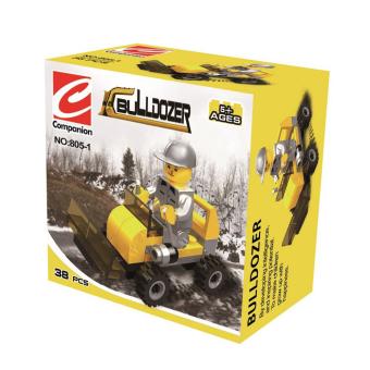 Bộ lắp ráp Bulldozer Companion SPK805 (vàng)