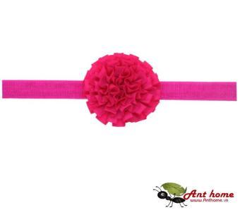 Băng đô cao cấp phụ kiện tóc cho bé yêu AHBĐ10 (hồng cánh sen)