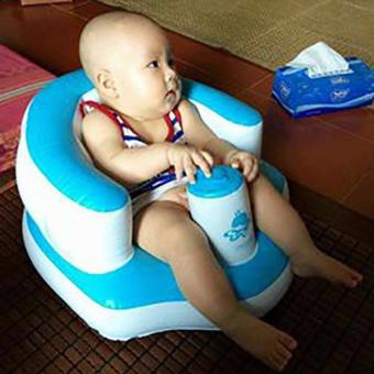 Ghế hơi tập ngồi cho bé yêu (Xanh)