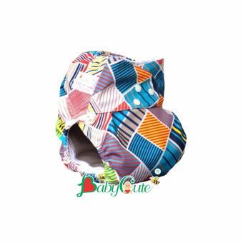 Bộ tã vải đêm BabyCute size XXL (40-60kg) Sắc màu