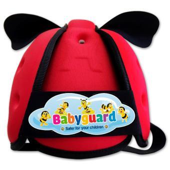 Nón Bảo Hiểm Bảo Vệ Đầu Em Bé Tập Đi Babyguard (Đỏ)