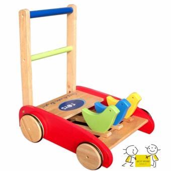 Xe bé tập đi bằng gỗ Baby Kids HO6