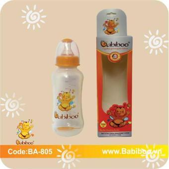 Bình sữa cho bé Babiboo cổ nhỏ 280ml