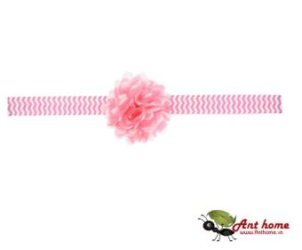 Băng đô cao cấp phụ kiện tóc cho bé yêu AHBĐ8 (hồng đậm)