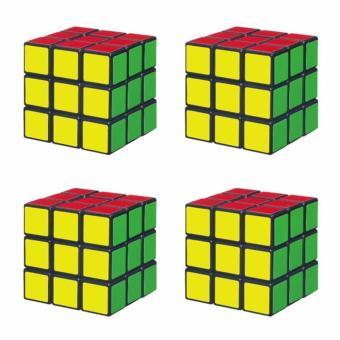 Bộ 4 Đồ chơi Rubik Cube 3X3