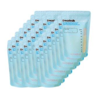 Hộp 30 túi trữ sữa cảm ứng nhiệt MotherK 200ml