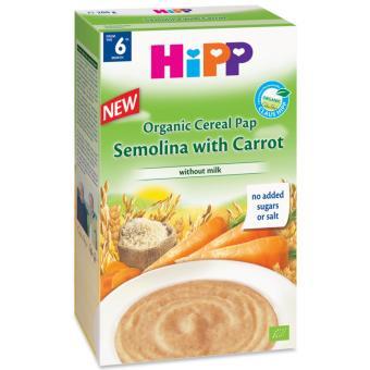 Bột dinh dưỡng ngũ cốc HiPP Semolina và cà rốt 200g