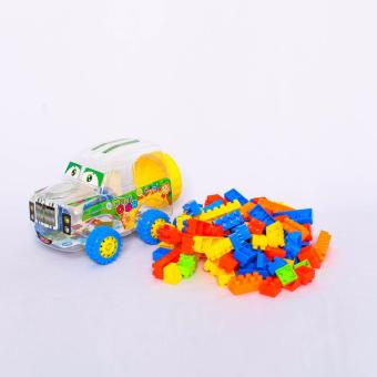 Bộ lắp ráp xe quân sự nhỏ - RACING CAR - Lele Brother 8328-2