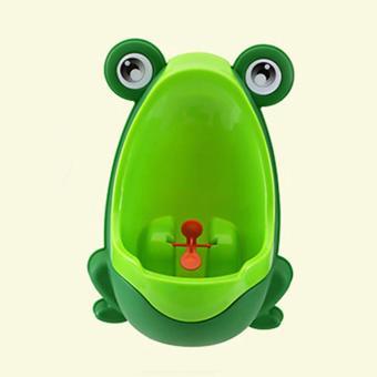 Bệ tiểu mini gắn tường hình chú ếch cho bé trai