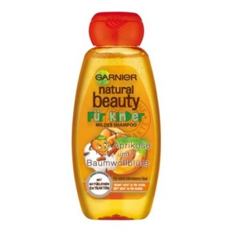 Dầu gội cho bé Garnier Natural Beauty Kids Shampoo Apricot 300ml
