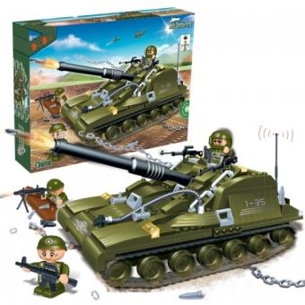 Bộ lắp ráp xe tăng chiến đấu hạng nặng Tiger II