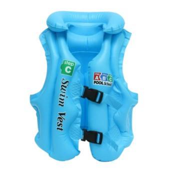 Áo phao bơi trẻ em Swim Vest Size 48x58(xanh)