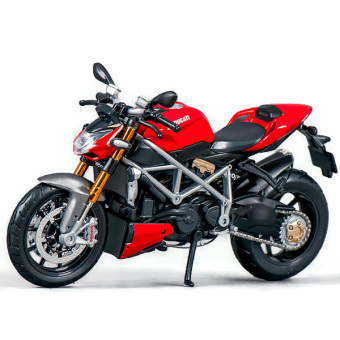 Xe mô hình Mô tô - Siêu Xe Đường Phố DUCATI Street Fighter - Maisto - Tỉ lệ 1/12