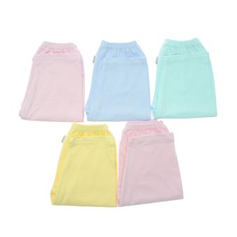 Bộ 5 quần dài màu trơn Nanio QD009