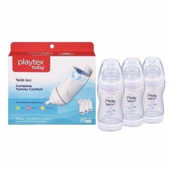 Bộ 3 bình sữa Playtex 266ml cho bé